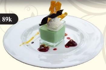 Green Tea Panacotta