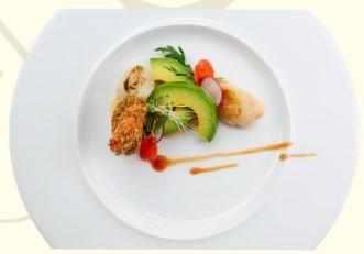 Prawn Pistacio Crust & Scalope