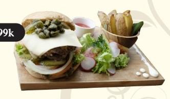 Wagyu Beef Melt Burger